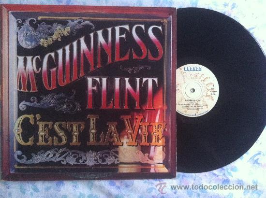 LP-MCGUINNESS FLINT-CEST LA VIE (Música - Discos - LP Vinilo - Country y Folk)