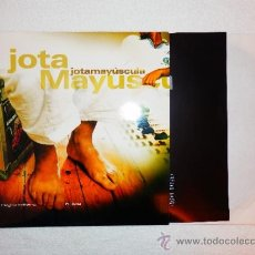 Discos de vinilo: JOTA MAYUSCULA JOTAMAYUSCULA CPV HOMBRE NEGRO SOLTERO BUSCA DOBLE LP VINILO HIP HOP ESPAÑOL NUEVO ZB. Lote 121818702