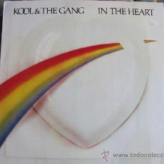 Disques de vinyle: LP - KOOL AND THE GANG - IN THE HEART (PORTUGAL, GIRA RECORDS 1985). Lote 34264088