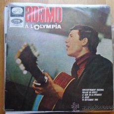Discos de vinilo: ADAMO A L'OLYMPIA. EMI 1965. ESPAÑOL.LP. Lote 34264202