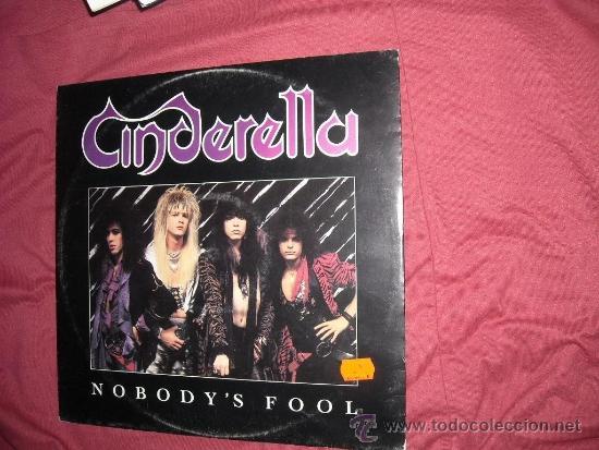 CINDERELLA MAXISINGLE NOBODY´S FOOL 1986 MERCURY USA VER FOTO ADICIONAL (Música - Discos de Vinilo - Maxi Singles - Heavy - Metal)