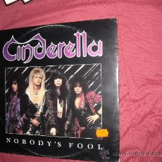 Discos de vinilo: CINDERELLA MAXISINGLE NOBODY´S FOOL 1986 MERCURY USA VER FOTO ADICIONAL. Lote 34266319