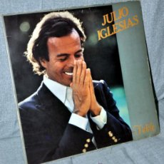 Discos de vinilo: JULIO IGLESIAS - LP VINILO 12'' - 10 TRACKS, CANTADOS EN FRANCÉS - EDITADO EN HOLANDA - CBS 1981. Lote 34270542