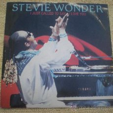 "Discos de vinilo: STEVIE WONDER ?– I JUST CALLED TO SAY I LOVE YOU_MOTOWN_12"" EDICION UK_1984. Lote 34278300"