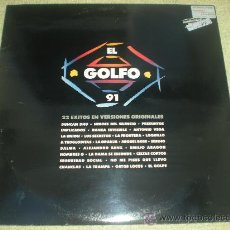 """Discos de vinilo: EL GOLFO 91_RECOPILACION GRUPOS ESPAÑOLES_2 X 12"""" EDICION ESPAÑOLA_1991. Lote 34280444"""