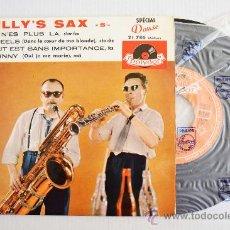 Discos de vinilo: BILLY'S SAX - TU N'ES PLUS LA… (POLYDOR EP) FRANCE. Lote 34282448