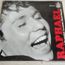 Discos de vinilo: RAPHAEL ( YO SOY AQUEL - ES VERDAD - LA NOCHE - HASTA VENECIA ) 1966 - ESPAÑA EP45 HISPAVOX. Lote 34283891
