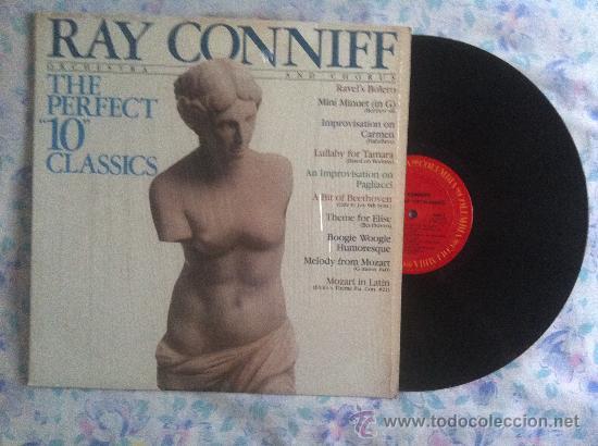 LP RAY CONNIFF-THE PERFECT 10 CLASSICS (Música - Discos - LP Vinilo - Pop - Rock - Extranjero de los 70)