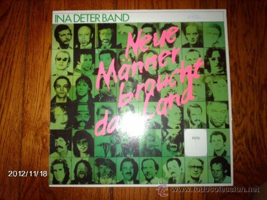 Ina Deter Band Neue Manner Braucht Das Land Kaufen Vinyl