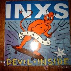 Discos de vinilo: INXS - DEVIL INSIDE. Lote 34295322