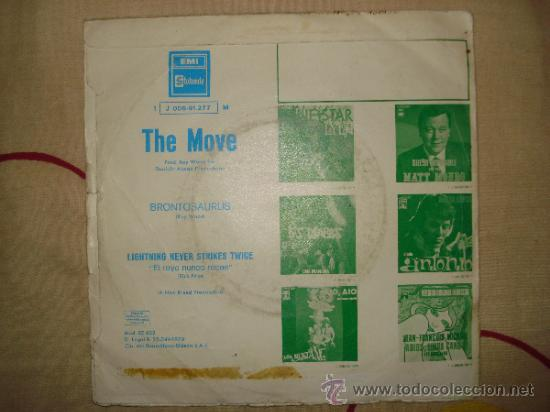 Discos de vinilo: THE MOVE , BRONTOSAURUS - Foto 2 - 103496219