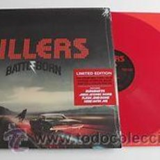 Discos de vinilo: 2LP THE KILLERS BATTLE BORN LTD RED VINILOS 180G. Lote 206786846