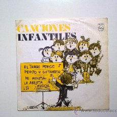 Discos de vinilo: SINGLE, CANCIONES INFANTILES, PHILIPS 1969 DISCO REGALO, . Lote 34298974