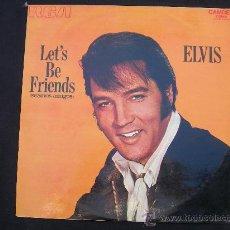 Discos de vinilo: LP ELVIS PRESLEY // LET´S BE FRIENDS - SEAMOS AMIGOS // RCA ESPAÑA. Lote 34423516