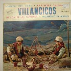 Discos de vinilo: SINGLE VILLANCICOS. Lote 34305134