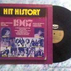 Discos de vinilo: LP-HIT HISTORY 1967-VARIOS. Lote 34305137