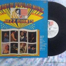 Discos de vinilo: LP-A STORY OF POPULAR MUSIC-JAZZ GIANTS. Lote 34305249