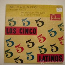 Discos de vinilo: SINGLE LOS 5 LATINOS. Lote 34305283