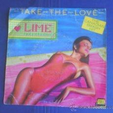 Discos de vinilo: LIME TAKE THE LOVE PROMO. Lote 34307885