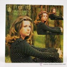 Discos de vinilo: MARI TRINI. YO CONFIESO - ESCUCHAME. SINGLE 1971 HISPAVOX BPY.. Lote 34310844