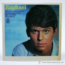 Discos de vinilo: RAPHAEL.ESTUVE ENAMORADO. ESTUVE ENAMORADO Y OTROS. HISPAVOX. 1966.. Lote 34311603