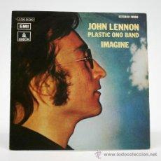 Discos de vinilo: JOHN LENON. PLASTIC ONO BAND Y OTROS. 19772. SINGLE. EMI/ODEON.. Lote 34311844