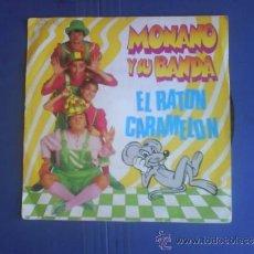 Discos de vinilo: MONANO Y SU BANDA EL RATON CARAMELON PROMO. Lote 34312629