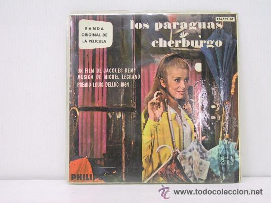LOS PARAGUAS DE CHERBURGO (Música - Discos de Vinilo - EPs - Bandas Sonoras y Actores)