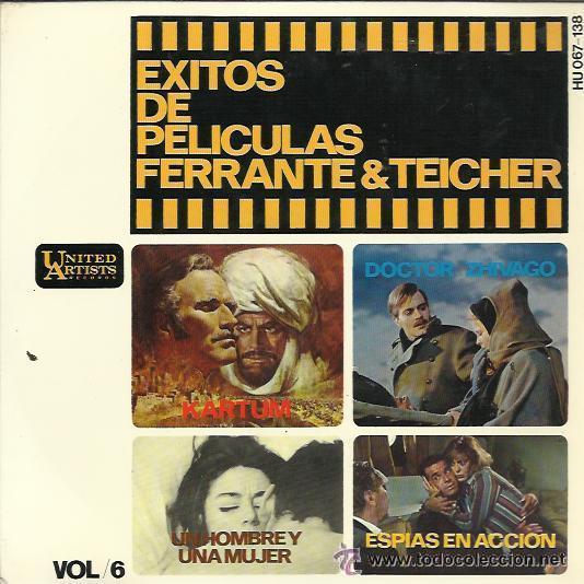 FERRANTE & TEICHER (Música - Discos de Vinilo - EPs - Bandas Sonoras y Actores)