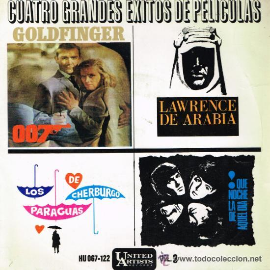 GRANDES ÉXITOS DE PELÍCULAS (Música - Discos de Vinilo - EPs - Bandas Sonoras y Actores)