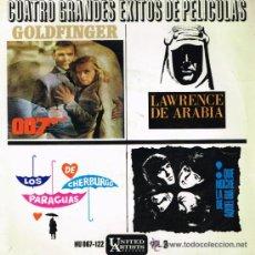 Discos de vinilo: GRANDES ÉXITOS DE PELÍCULAS. Lote 34318435