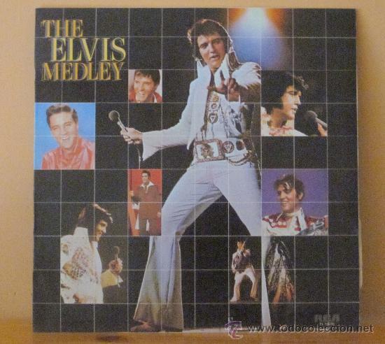 ELVIS PRESLEY - THE ELVIS MEDLEY R C A - 1982 (1972) (Música - Discos - LP Vinilo - Rock & Roll)