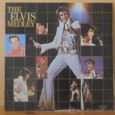 Disques de vinyle: ELVIS PRESLEY - THE ELVIS MEDLEY R C A - 1982 (1972). Lote 34321539