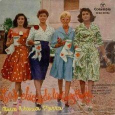 Discos de vinilo: ANA MARIA PARRA - LAS CHICAS DE LA CRUZ ROJA - TIMIDA SERENATA + 2 - EP SPAIN 1958 - VG+ / VG+. Lote 34326556