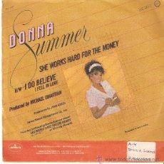 Discos de vinilo: SINGLE VINILO , DONNA SUMMER . Lote 34328962