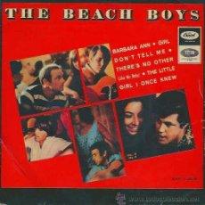 Discos de vinilo: THE BEACH BOYS - BARBARA ANN / GIRL DON´T TELL ME + DOS TEMAS CAPITOL - 1966. Lote 34337669