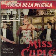 Discos de vinilo: MARY SANTPERE-MUSICA DE LA PELICULA MISS CUPLE EP 1959 SPAIN. Lote 34340856