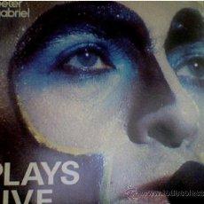 Discos de vinilo: PETER GABRIEL-PLAYS LIVE (DOUBLE) . Lote 34341907