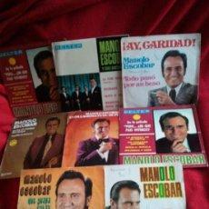 Discos de vinilo: 8 DISCOS DE MANOLO ESCOBAR. Lote 34342516