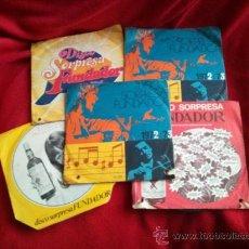 Discos de vinilo: 5 DISCOS DE FUNDADOR VARIOS INTERPRETES. Lote 130047759