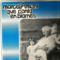 Discos de vinilo: LP MARCEL AMONT QUE CONTA EN BIARNES . Lote 34348631