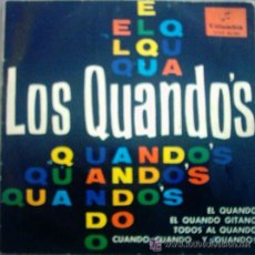 Discos de vinilo: SINGLE VINILO , LOS QUANDÓS , 1965 . Lote 34348938