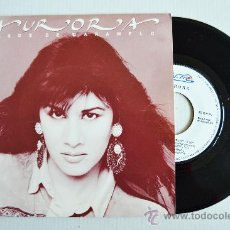 Discos de vinilo: AURORA - BESOS DE CARAMELO/QUE MISTERIO EL DE LA LUNA -PROMOCIONAL- (NUEVOSMEDIOS SINGLE 1990) ESPAÑ. Lote 34351274
