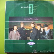 Disques de vinyle: DURAN DURAN - UNION OF THE SNAKE / SECRET OCTOBER - SINGLE 1983 PEPETO. Lote 34355248