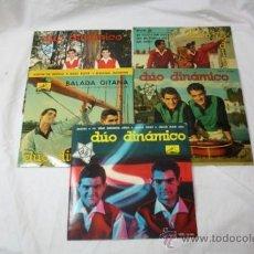 Discos de vinilo: LOTE DE 5 SINGLES DUO DINAMICO AÑOS 60 - LA VOZ DE SU AMO -. Lote 34360554