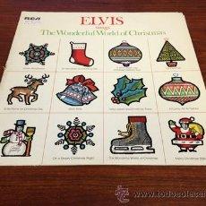 Discos de vinilo: ELVIS PRESLEY / SINGS THE WONDERFUL OF CHRISTMAS 1971 / ORIG. EDIT. USA IMPORT !!!!. Lote 34362532