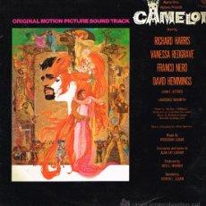 Discos de vinilo: CAMELOT - ORIGINAL MOTION PICTURE SOUND TRACK - LP 1967 - ESPAÑA. Lote 34392727