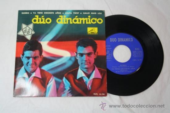Discos de vinilo: Lote de 5 Singles Duo Dinamico Años 60 - La Voz de su Amo - - Foto 2 - 34360554
