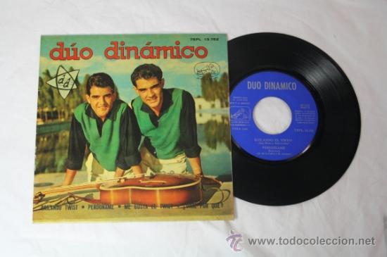 Discos de vinilo: Lote de 5 Singles Duo Dinamico Años 60 - La Voz de su Amo - - Foto 3 - 34360554