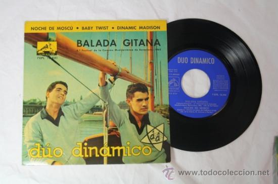 Discos de vinilo: Lote de 5 Singles Duo Dinamico Años 60 - La Voz de su Amo - - Foto 4 - 34360554